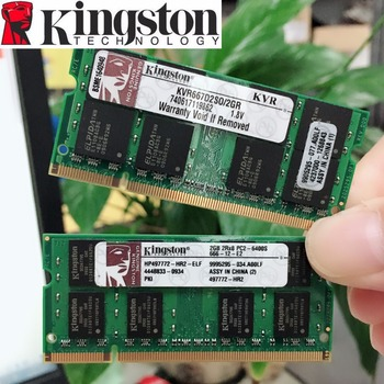 Kingston Laptop Notebook 2 GB 2G PC2 5300 S 6400 S 5300 6400 667 800 667 MHZ 800 MHZ ECC dizüstü dizüstü 2 GB bellek RAM